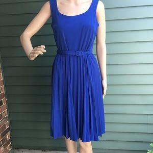 Lovely Pleated Skirt Dress